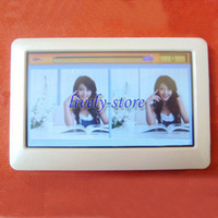 Card Touch Screen 4GB 20pcs T13 4.3 inch Touch Screen MP4 MP5 Player Real 8GB TV Out HD FM Radio E-book