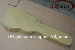 Deluxe guitar case wooden custom guitar case with Coded lock