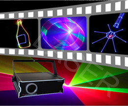 Wholesale NEW MW RGB Full Color Animation laser light with SD Card D D Change christmas laser light
