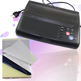 Wholesale Pro Black Tattoo Thermal Stencil Paper Maker Transfer Copier Printer Machine WS D200