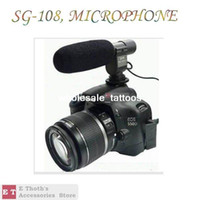 Wholesale wholesales for SG directional Shotgun Video Stereo Microphone for CANON NIKON PENT