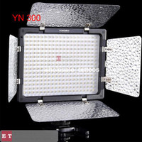 Wholesale wholesales for YONGNUO YN LED Video Light SLR Camera DV Camcorder For Canon D II WITH TRACKING