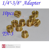 Wholesale wholesales for quot Female to quot Male Threaded screw Adapter TN for Tripod Monopod