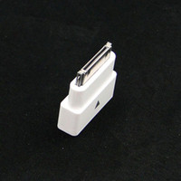 Wholesale 30pin M to F Dock Extender Extension Adapter for Apple iPhone S iPad iPod