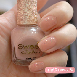 Wholesale Sweet color eco friendly nail polish oil nude painting pink ol nail art set
