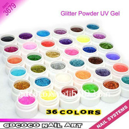 Wholesale 3679 COCO colors glitter Builder UV GEL Brands News
