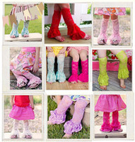 Wholesale Leg Warmers Girls Lace Socks Knit Knee High Socks Baby Sock Multicolor Breathable Beautiful Socks