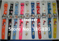 Wholesale New Tom and Jerry Watch on the Face and Band colors good gift for ki