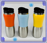 CE / EU stainless steel water bottle - 430ml Stainless Steel vacuum Mug insulation flask thermos mug water bottle mug
