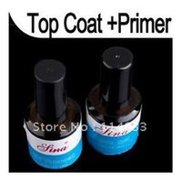 Clear uv gel big lots art - Big Discount sets New Top Coat Primer Base Gel Nail Art UV Gel Polish