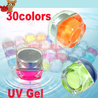 Clear uv gel acrylic nail coating - Colors Mix Pure Pigment Nail Art Solid UV Gel Set Kit BUILDER for Acrylic Design