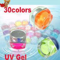 Base coat Gel acrylic clear coat - Colors Mix Pure Pigment Nail Art Solid UV Gel Set Kit BUILDER for Acrylic Design