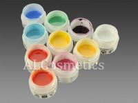 Wholesale 10 Colors Professional Neon Colors Nail Art UV Gel False Kit