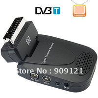 Wholesale Hot Sale DVB T SCART Receiver TV Receiving TV Record Certification CE RoHS Support Multilanguage