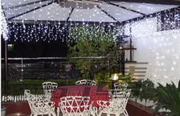 320 LED Bulbs 10*0.55~0.65m Curtain Lights,Christmas ornament light,Fairy weddind icicle led light,
