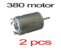 Wholesale 2X RS380 Brushed Motor for DIY RC Model Electric Car Airplane Boat