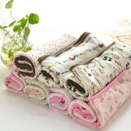 Wholesale spring autumn baby infant toddlers swaddling two layers shower outdoor blanket