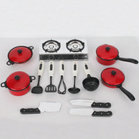 Wholesale Children Play House Toys Simulation Kitchen Utensils Sets set