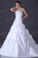 Hot Sales Stock Ball Gown Wedding Evening Prom Long Dresses ...