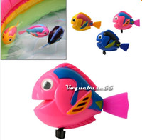 Wholesale Little Swimming Mermaid Flounder Fish Bath Pool Water Plastic Figure Toy New
