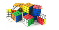 Wholesale The Rubik s Cube of Key Chain Fashion Key Ring Rubik s Cube Toy