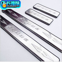 Wholesale freeshipping Chevrolet Chevy Cruze stainless steel scuff plate door sill set B229