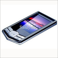 Wholesale 2pcs GB GB GB Digital MP4 player Black diamond MP4 player inch FM ebook recorder video photo