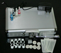Wholesale Permanent Makeup Pen Tattoo Eyebrow Make up Machine Kit Needles Tips