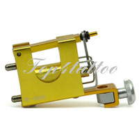 Cheap Professional Dragonfly tattoo equipment supply golden motor rotary tattoo machine free shipping