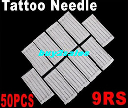 Wholesale 50 Disposable Round Shader Sterilized Tattoo Needles RS Dropshipping