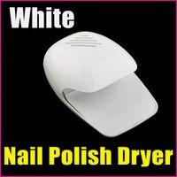 Wholesale AD310 White Nail Tools Art Equitment Portable Finger amp Toe Fast Nail Polish Blower Dryer