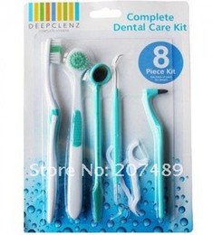 Wholesale Oral care kit dental hygiene Oral clean tools pc set Dental floss toothbrush mouth m