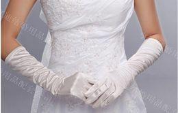 Wholesale HOT pair Sweet white bridesmaid gloves Bridal Gloves Wedding Gloves Decorating Bride