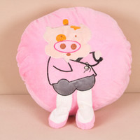 Wholesale Cartoon hand warmer hand warmer baby dual pillow cushion hyraxes doll warm baby