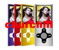 Wholesale New Slim th quot LCD MP3 MP4 player real GB GB GB FM Radio digital mp4 player Medio amp Free shippin