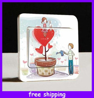 Wholesale Hot Sale Switch Sticker Decoration Light Wall Sticker Switch Sticker Cover