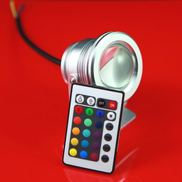 Wholesale - 10W RGB 12V LED Underwater Light LED Flood Light Waterproof ,outdoor light,RGB