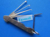 car door open tools - Locksmith tools car flip lock pick door open tool best quality amp O187