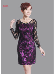 Wholesale Sexy Chinese Style Silk Mini Cheong sam Party dress Upscale lace