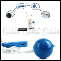 Wholesale Mini Portable Candy Vibration Speaker for PC MP3 MP4 Player Mobile Phone