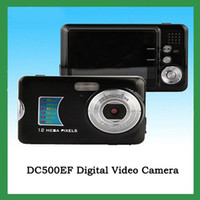 Wholesale Winait DC500FE TFT mini digital camera with X digital zoom Black