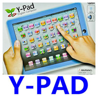 abc english learning - Y Pad Y PAD ABC English Touch Learning Machine with Music Led Light for Kids Children