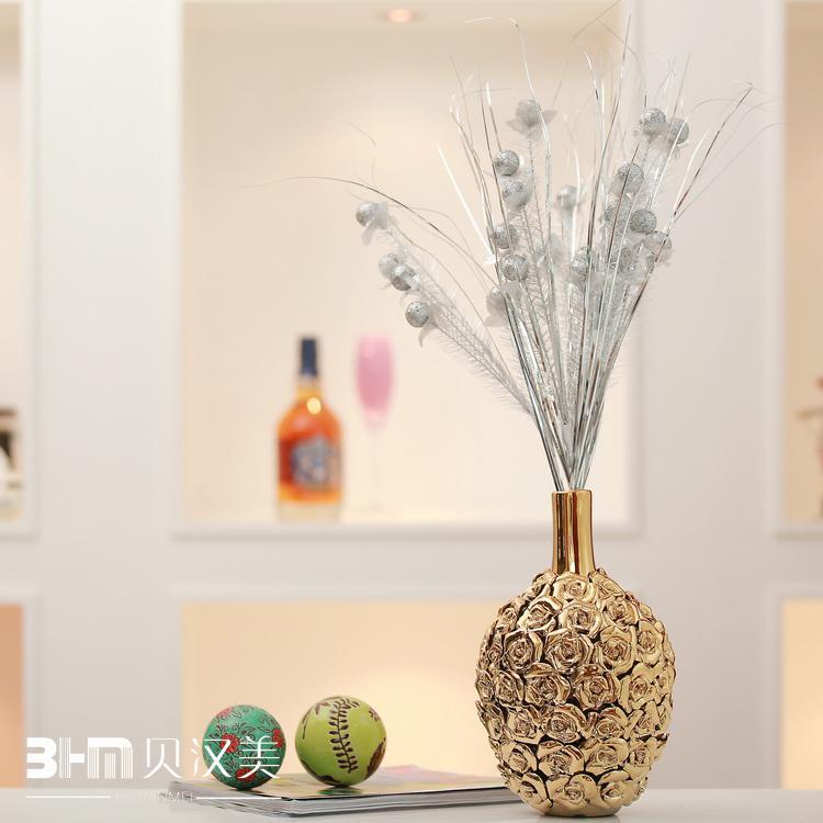 Amazoncom Silver  Vases  Home Décor Home amp Kitchen