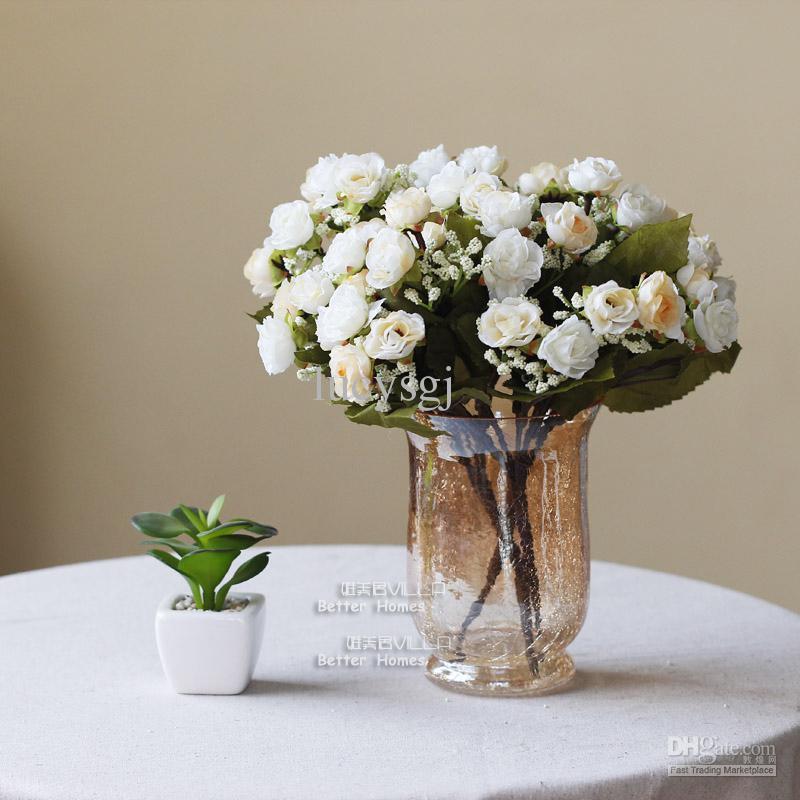 Glass Flower Vase Vase Flower Dining Table