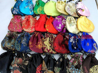 Wholesale Chinese Handmade Silk Jewellery Pouchs Coin purses