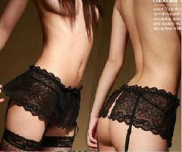 Wholesale New Women Fashion Sexy Lace Mini Skirt Garters Fashion Transparent More Colors