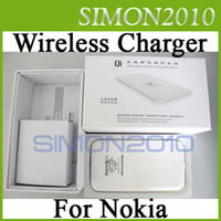 Wholesale QI marked Wireless Charger Charging Pad AC Wall Adapter Cable for Nokia Lumia Package Box
