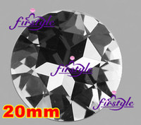 Wholesale Fancy Cut Faceted Face Flat Back crystal clear Glass Stone pointback rhinestones flat top mm