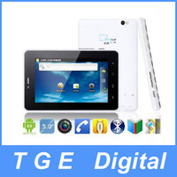 Wholesale Cutepad Q5 Tablet PC G Phone Call inch Android MTK6573 Dual Camera WiFi GPS Black White