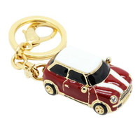 Wholesale New Key chain Korean Small cute Cartoon cars